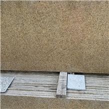 Diamond Gold Yellow Granite Stone Slab