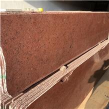 Dragon Red Granite Small Slab for Exterior Decor
