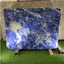 Luxury Sodalite Blue Marble for Background Decor
