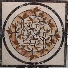 Marble Water Jet Medallion Pattern for Floor Tile