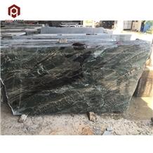 Nine Dragon Wall Marble China Green Stone