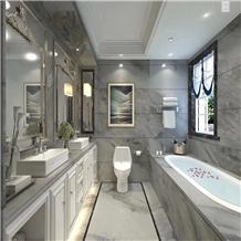 Orlando Grey Marble Slab for Interior Design