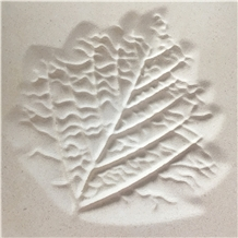 White Limestone Cnc Laser Carving