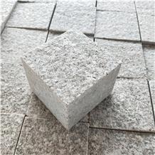 Wild Rose Pink Granite Cobblestone Paver Stone