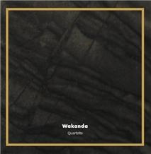 Wakanda Quartzite, Exotic Black Quartzite