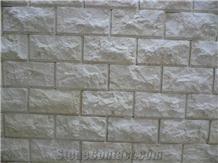 Galala Light Marble Split Face Wall Tiles