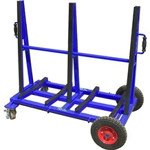 Double Sided Slab Buggy - White Rubber