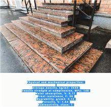 Karjalan Punainen- Kalguvara Granite Steps