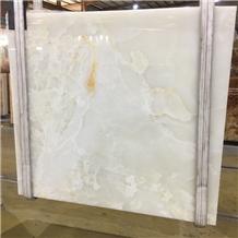 Translucent Iran Snow White Onyx Slab Price