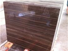 Tobacco Brown Marble Floor Wall Slab Tiles