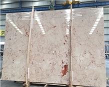 Turkey Rosalia Pink Marble Slab Floor Wall Tiles