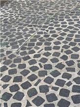China Green Porphyry Granite Paving Stone