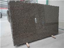 Saudi Gold Diamond Granite Brown Slabs and Tiles