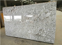 Whisper White Granite Slabs