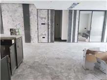 Brazil Calacatta Grey Marble Floor Covering Tiles