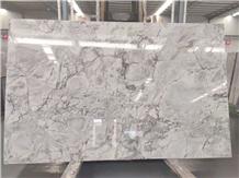 Super White Calacatta Grey Quartzite Slab Tile