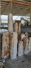 Monolith Column, Landscaping Pillar