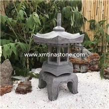 Stone Lantern Sculpture Lamp Statue Garden Decor