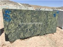 Birjand Green Granite Picasso Green Granite Blocks