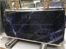 Lapis Lazuli Marble Slabs, Royal Blue Marble