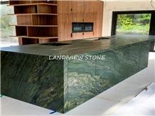 Verde Fantastico Granite Birjand Green Granite Top