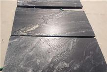 Black Cosmic Snowflake Granite Garden Floor Tile
