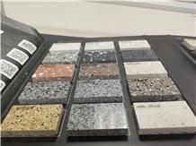 Terrazzo Stone Floor Tile Sample Show