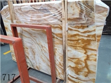 China Linglong Red Jade Marble Slab Wall Tile Use