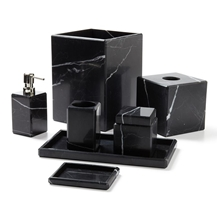 Marquina Black Marble Tray Bathroom Accessories