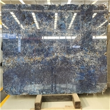 Low Price Dyed Dark Blue Bahia Granite Countertops