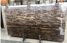 Golden Beach , King Gold Brown Marble Slabs