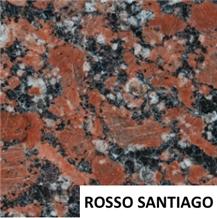 Rosso Santiago Granite Wall Tiles & Slabs