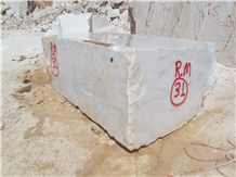 Mugla White Marble Block, Turkey White Marble