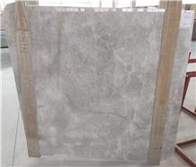Tundra Grey Marble Slabs, Turkish Grey Marble