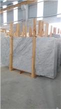 Turkish Carrara White Marble Slabs / Tiles