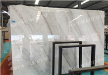 Cheap New Carrara White Marble Slabs/Floor Tiles