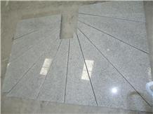 China Sardinia G603 Grey Granite Rounded Stairs