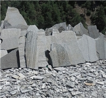 Silvery Green Slate Greenish Grey Slate Polygonal Irregular Flagstone Wall, Flagstone Pavers