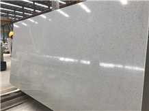 Sparkle White Engineered Artificial Marble