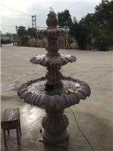 Granite Garden Small Waterfall Street Fountain
