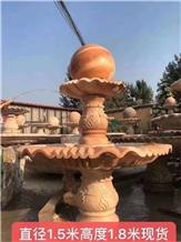 Marble Villa Courtyard Water Landscape Fountain