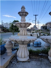 Natural Stone Garden Street Waterfall Fountain