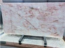Pink Quartzite Rose Crystal Light Penetration