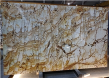 Roman Impression Marble Slabs for Counter Top