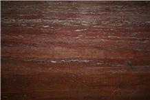 Galaxy Red Travertine Slabs Tiles