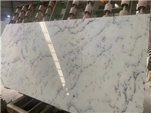 Centalla White Marble Slab and Tiles for Project