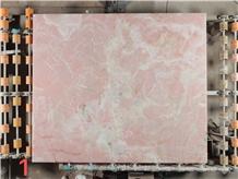 Mgt Pink Onyx Slabs and Floor Tiles for Bathroom