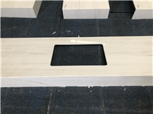 Veron White Marble for Vanity Top