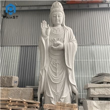 China Supplier Large Granite Guanyin Hand Carved