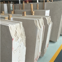 Exterior Wall Cladding and Flooring Beige Marble